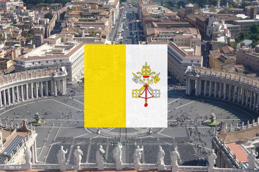 Papieska flaga